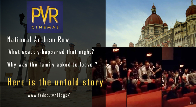 PVR National Anthem Row- Here is true confirmed version of the story